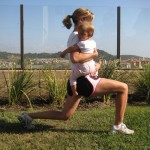 lunge end 150x150 Exercise With Your Baby:  4 Moves to Blast Your Butt and Thighs