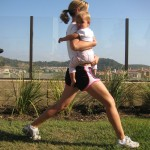 lunge start 150x150 Exercise With Your Baby:  4 Moves to Blast Your Butt and Thighs