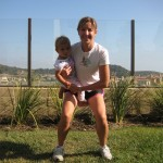 squat front 150x150 Exercise With Your Baby:  4 Moves to Blast Your Butt and Thighs