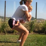 squat side 150x150 Exercise With Your Baby:  4 Moves to Blast Your Butt and Thighs