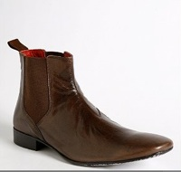 Brown Leather Chelsea Boot from Urban Outfitters, $68