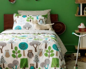owl bedding 300x240 Kids Room Decor: Owl You Doing?