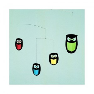 owl mobile 300x300 Kids Room Decor: Owl You Doing?
