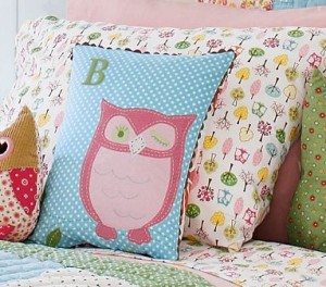 owl pillow 300x264 Kids Room Decor: Owl You Doing?