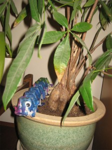 caterpillar 01 224x300 Crafternoon: 5 Projects to Beat the Daylight Savings Blues