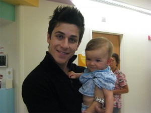 With David Henrie from Wizards of Waverly Place.