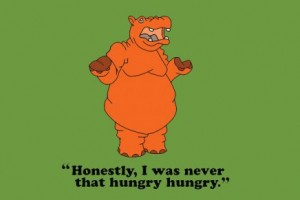 hungry hippo 300x200 Kids Tees To Get You Laughing