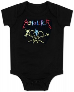 metallica tee 240x300 Kids Tees To Get You Laughing