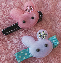 bunny Cute Girls Hair Accessories