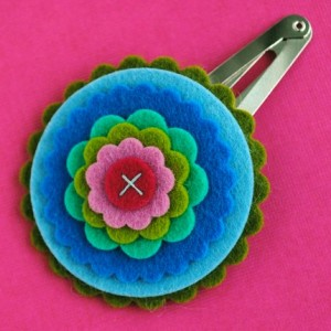 felt flower 300x300 Cute Girls Hair Accessories