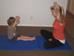 breathing new When Your Blood is Boiling: Mommy and Me Yoga