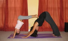 double dog When Your Blood is Boiling: Mommy and Me Yoga