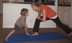 dragon lunge new When Your Blood is Boiling: Mommy and Me Yoga