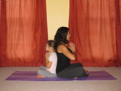 yoga pose When Your Blood is Boiling: Mommy and Me Yoga