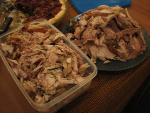 leftover turkey by nathalie wilson 300x225 Delish Dish: Blackberry Rice Turkey Salad