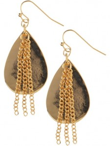 earrings gold 225x300 Your Spring Wardrobe Essentials   6 for $75.00