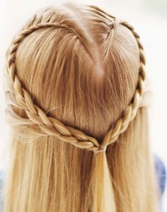 Heart Braid cropped1 236x300 5 Holiday Hairstyles For Your Little Girl