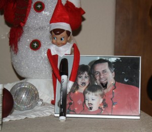IMG 7346 300x261 Elf on the Shelf: New Ideas for an Old Trick