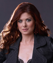 photo1 Debra Messing Talks Her Son and Show Business