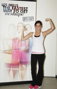 IMG 0124.1 KC Works Out with Melissa Rycroft