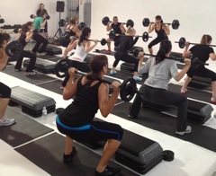 les mills workout KC Works Out with Melissa Rycroft