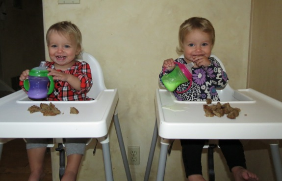 feed twins1 How to Fatten Up Your Kid