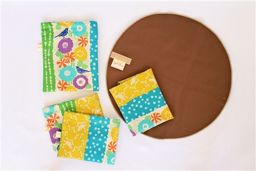 Bird SS 2 Adorable Reusable Snack Bags