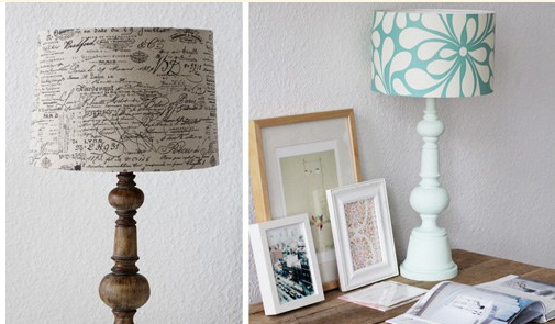 creative lamp shades 5 Easy Ways to Spruce Up Your Home, Nursery & Childs Bedroom