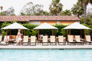 estanica pool 300x199 Rest and Relaxation Found at the Estancia La Jolla Hotel & Spa