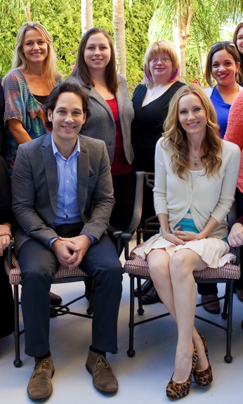 Paul Leslie me Exclusive! Paul Rudd and Leslie Mann Talk Parenting, Hemorrhoids and Turning 40