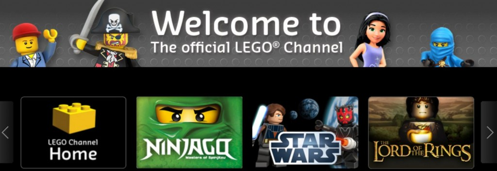 lego channel large 1024x352 Sponsored: Keep the Kiddos Entertained with the Official LEGO® Channel