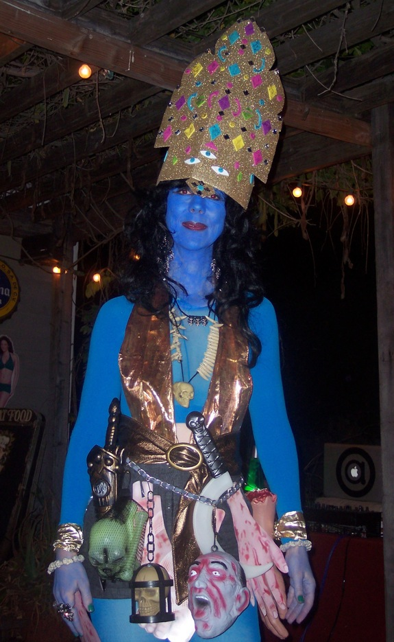 homemade Hindu Goddess Kali1 5 Do It Yourself Halloween Costumes