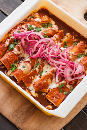 Shortcut-Chicken-Enchiladas