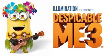 Win it! Despicable Me Prize Pack!