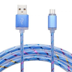 Usb Cable New LED Light Micro USB Cable Charger Data Sync Cord For Android Phones